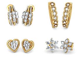 7 Stone Earrings