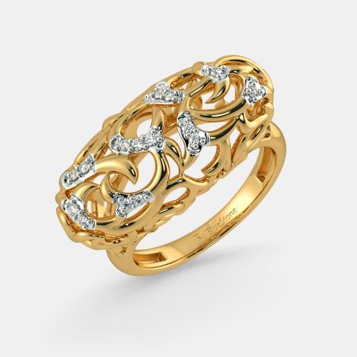 Rings Buy 1350 Ring Designs Online in India 2018 BlueStone