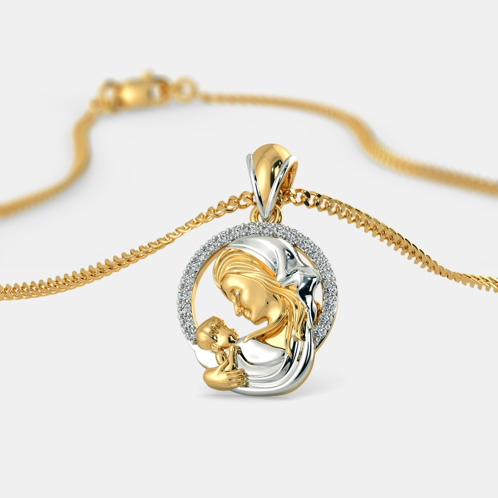 The divine mary pendant bluestone the divine mary pendant aloadofball Choice Image