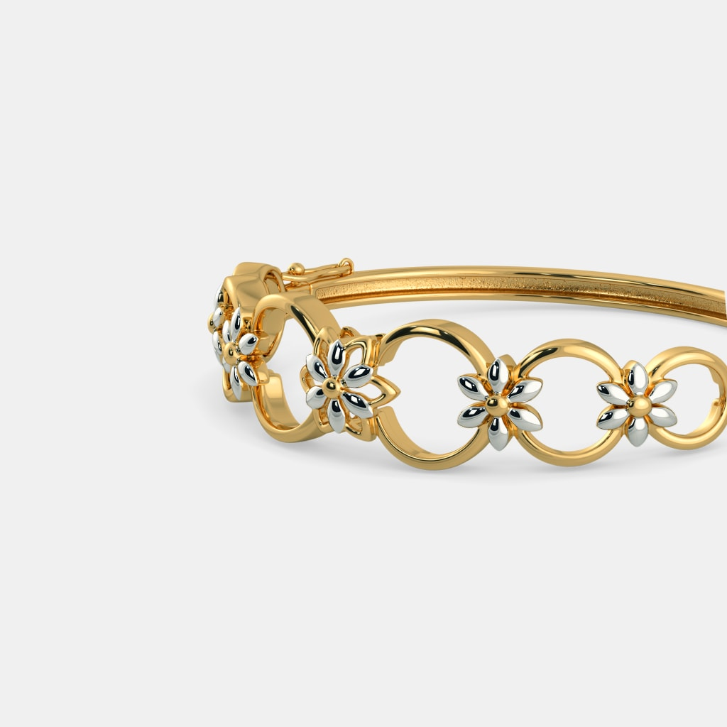 Plain Gold Bangles - Buy 50+ Plain Gold Bangle Designs Online in ...