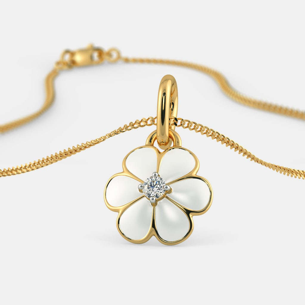The floral joy pendant for kids bluestone the floral joy pendant for kids aloadofball Gallery