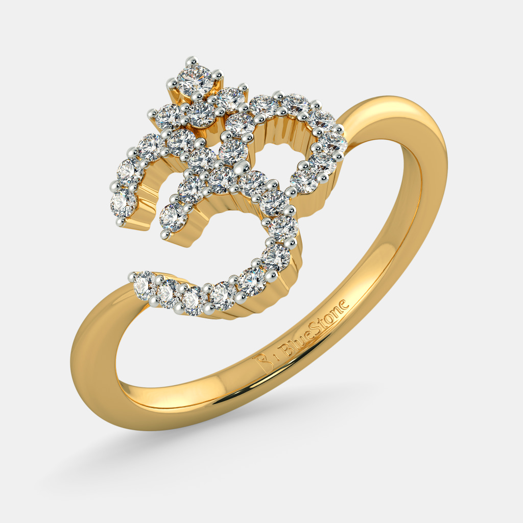 Buy Unisex\'s Gold Ring Designs Online in India 2018 | BlueStone