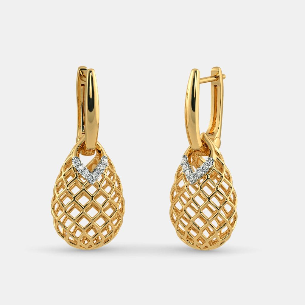 Earrings - Buy 2050+ Earring Designs Online in India 2018 | BlueStone