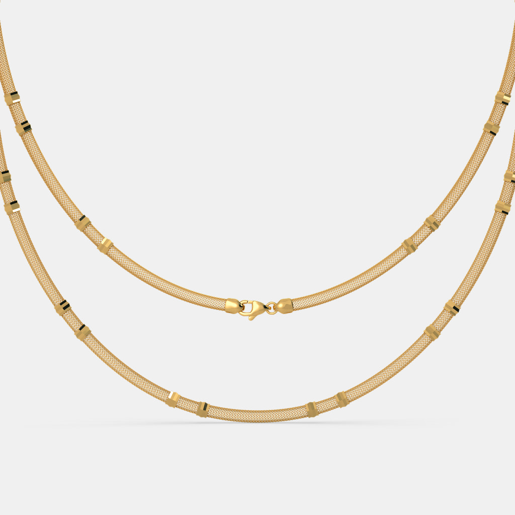 gold chains basic mvintage rosegold long plain chain rose collections