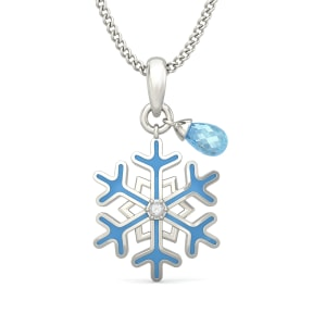 The Elsa Star Pendant for Kids