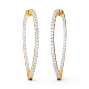 The Angeline Hoop Earrings
