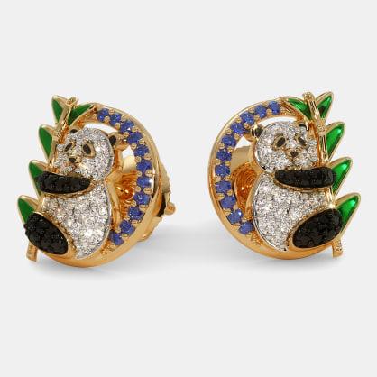 The Panda Stud Earrings