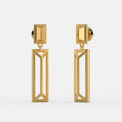 The Fenced Axis Earrings