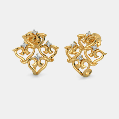 The Insignia Huggie Earrings