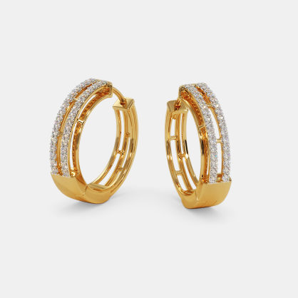 The Crest Hoop Earrings