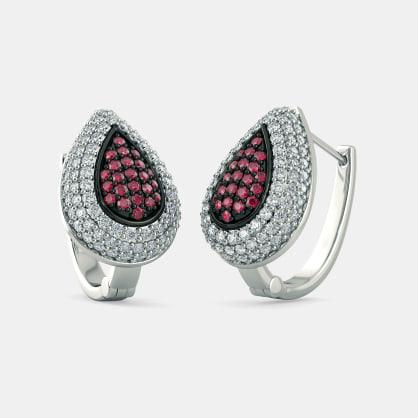 The Carmelle Huggie Earrings