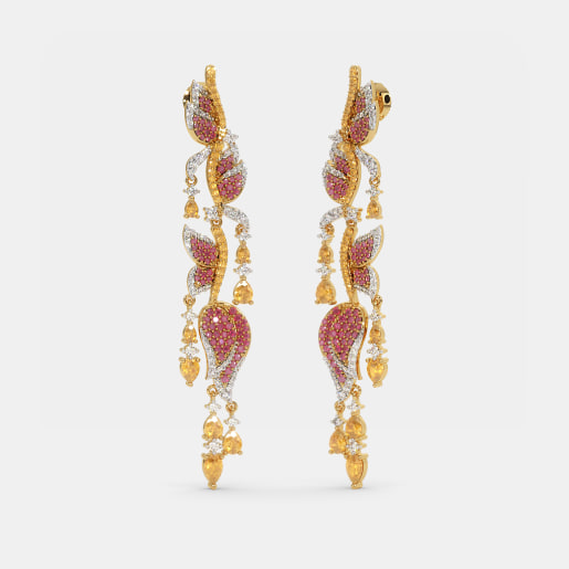 The Heliconia Drop Earrings