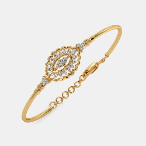 The Nina Oval Bangle