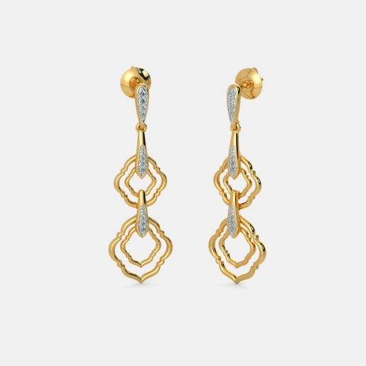 The Aaditva Drop Earrings
