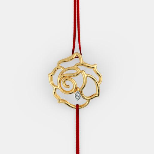 The Zinnia Rakhi Pendant