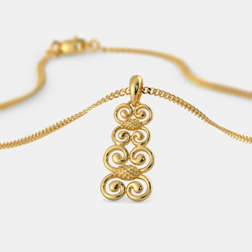 The Twirled Wonder Pendant