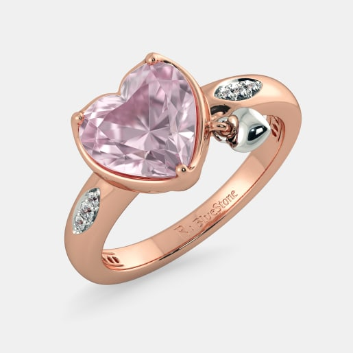 The Terra Rose Quartz Ring