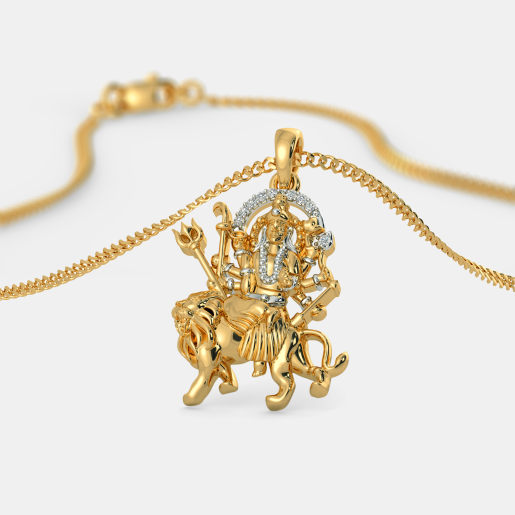 The Mata Sherawali Pendant