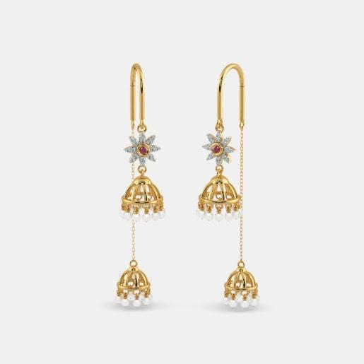 The Khushi Sui Dhaga Earrings