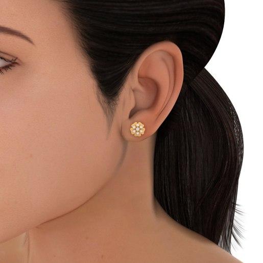 The Nada Stud Earrings