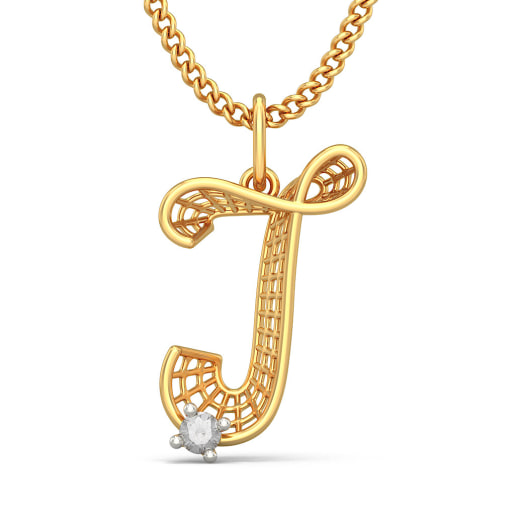 The Jolly J Pendant