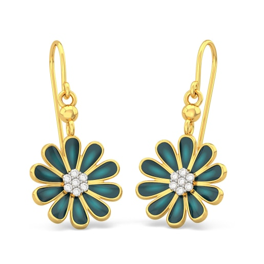 The Midnight Blossom Earrings