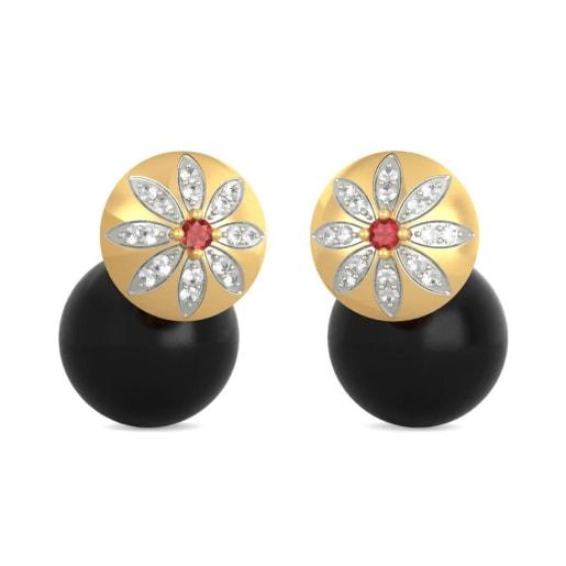 The Rikta Onyx Earrings