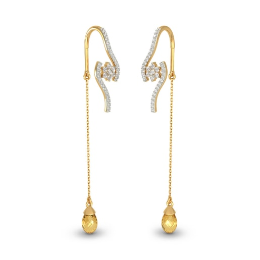 The Arched Floret Earrings