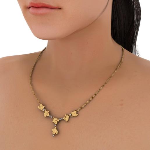 The Modernize Flora Necklace