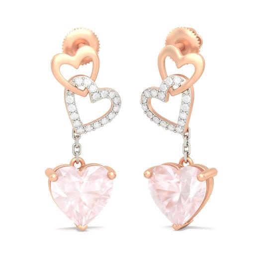 The Phoebe Heart Earrings