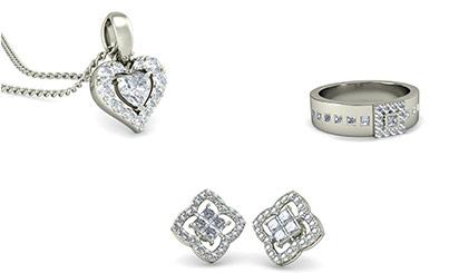 White Gold Diamond Jewellery